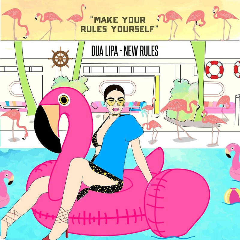 "New Rules Dua Lipa: New RULES Collection Part 2"" Posters By"