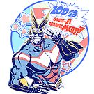 All Might 100% organic meat! by scumsuck