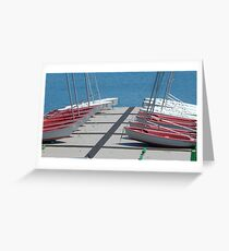 Hauled Out Greeting Card