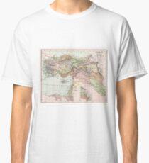 Vintage Map of Turkey Classic T-Shirt