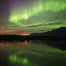 Aurora Borealis Reflections by akaurora