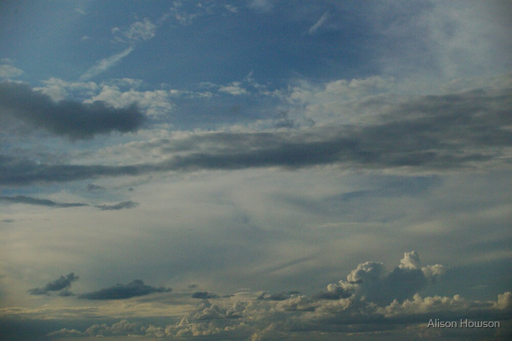 Clouds by Alison Howson