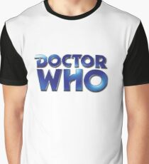 Doctor Who Classic Series Eighth Doctor Logo Graphic T-Shirt
