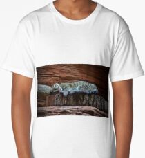 Black Footed Cat Long T-Shirt