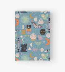 Lunar Pattern: Blue Moon Hardcover Journal