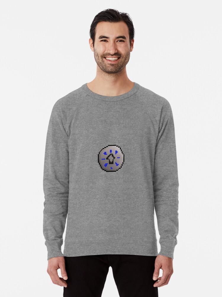 'OSRS Body Rune' Lightweight Sweatshirt by ragsmaroon
