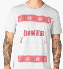 IT'S A BIKER THING YOU WOULDN'T UNDERSTAND UGLY CHRISTMAS COSTUMES Men's Premium T-Shirt