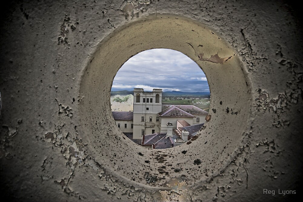 Through a Peephole in My Room by Reg  Lyons