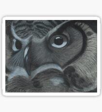 Owl - Cool Sticker