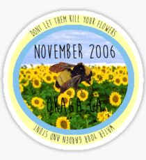 Tyler the creator SFFB Flower boy circular logo sticker and prints Sticker