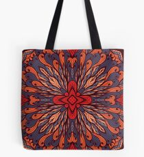 Hand drawn floral ornament Tote Bag