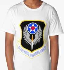 USAF Special Operations Command Shield Long T-Shirt