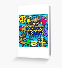 Iroquois Springs Greeting Card