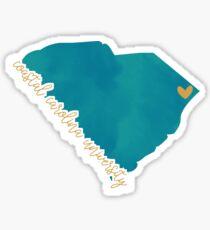 Coastal Carolina University Sticker