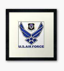 AFSOC Crest With The Air Force Symbol Framed Print