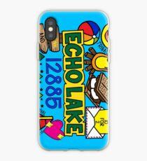 Vinilo o funda para iPhone Echo Lake