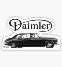 Daimler DS420 Limo Sticker