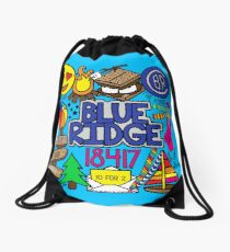 Blue Ridge Drawstring Bag