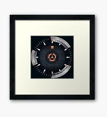 Valhalla - Viking wall clock Framed Print