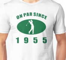 1955 Golfer's Birthday Unisex T-Shirt