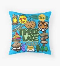 Timber Lake  Throw Pillow