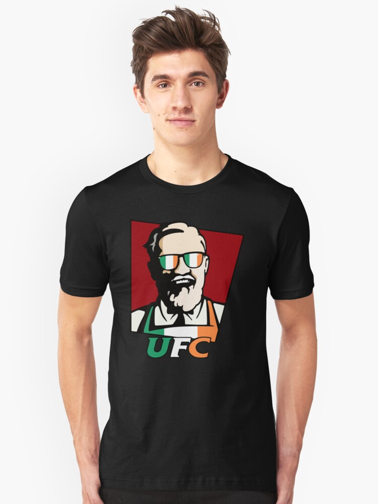 Conor Mcgregor Kfc T Shirt By Mariadems Redbubble