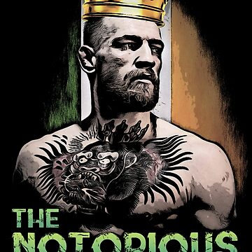 king conor mcgregor  by mariadems