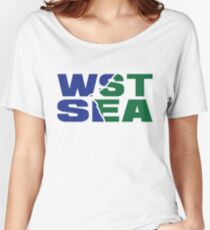 West Seattle Women's Relaxed Fit T-Shirt