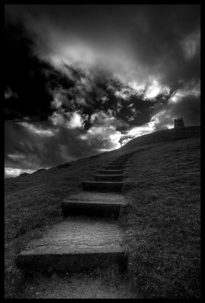 Glastonbury steps by igotmeacanon
