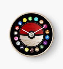 Pokemon Pokeball Clock