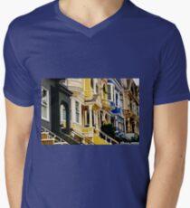 San Francisco Neighborhood Men's V-Neck T-Shirt