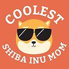 Coolest Shiba Inu Mom by cartoonbeing