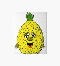 Emoji Pineaple Funny Fruit Art Board