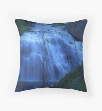 Small falls in California Throw Pillow