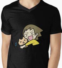 Crazy cat hug T-Shirt