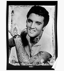 Elvis Tattoo Poster
