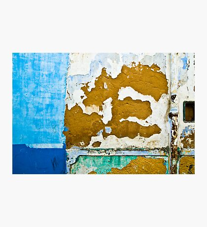 Blue Patches Photographic Print