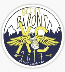 Bethesda Chevy Chase High School Cross Country (bccxc) Sticker
