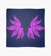 Pink Fairy Wings T-Shirt Womens Top Scarf
