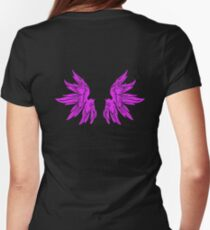 Pink Fairy Wings T-Shirt Womens Top T-Shirt