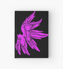 Pink Fairy Wings T-Shirt Womens Top Hardcover Journal