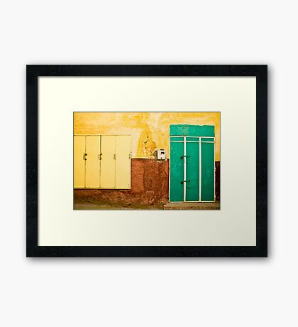 Meknes Wall Framed Print