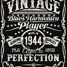 Adam Gussow's Vintage Blues Harmonica Player Made in 1944 by HNA Media