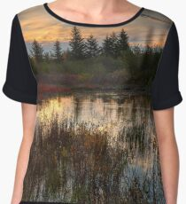 Autumn Dolly Sods Sunset Women's Chiffon Top