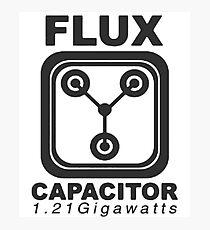 Flux Capacitor  Photographic Print