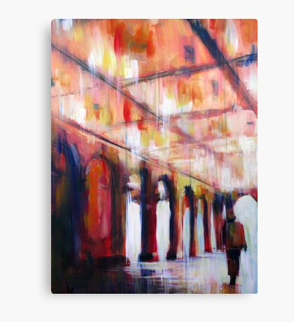 Central Park NYC Impressionist Abstract Realism Canvas Print