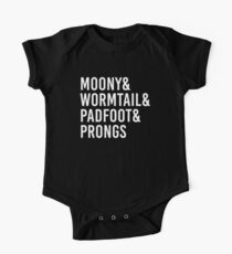 Moony wormtail padfoot prongs Kids Clothes