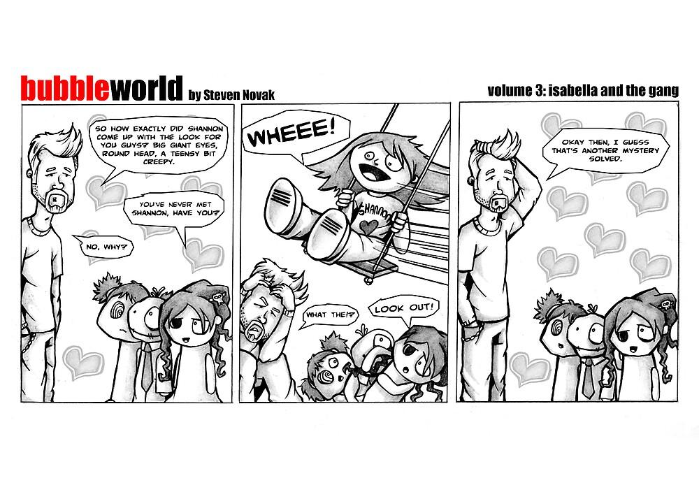 Bubbleworld Volume 3 by Steven Novak