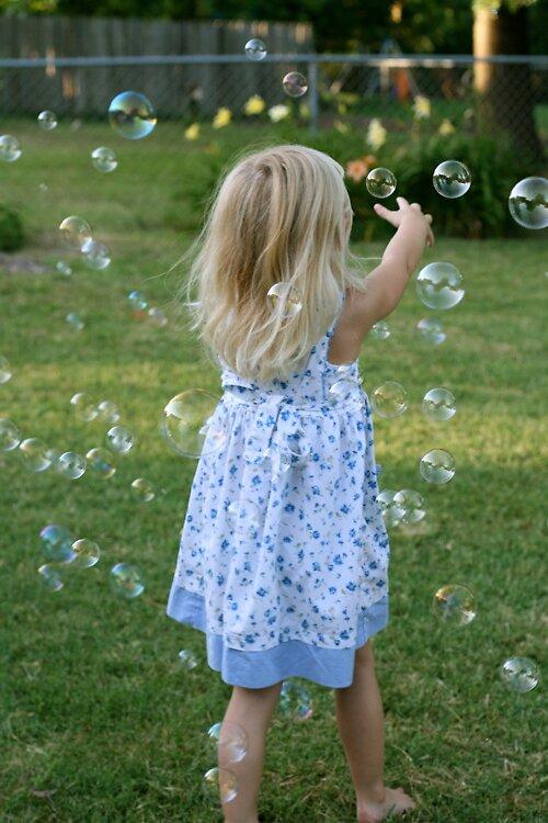 Bubble Girl #3 by JTomblinson