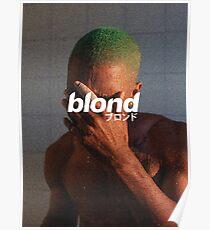 Frank Ocean - Blond Poster